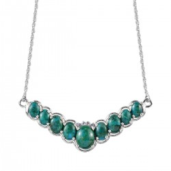 AAA Chrysocolla and Tanzanite Necklace