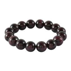 Mozambique Garnet Beads Stretch Bracelet